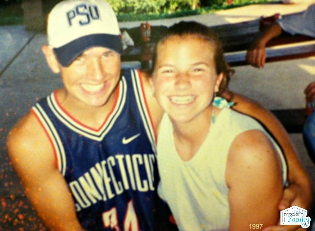 Mickey Mansfield and Becky Mansfield 1997