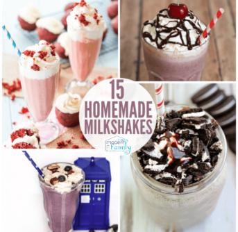 Easy Homemade Milkshakes