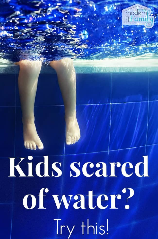 kids scared of the water?  try these tips!!