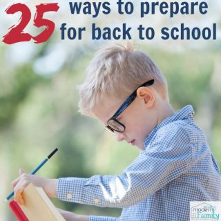 25 Tips to Prepare for School