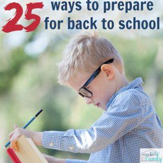 25 Tips to Prepare for School