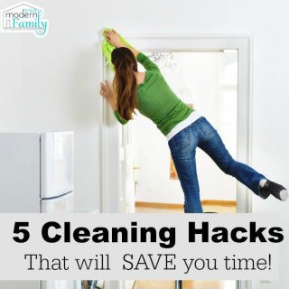 5 hacks to make cleaning faster