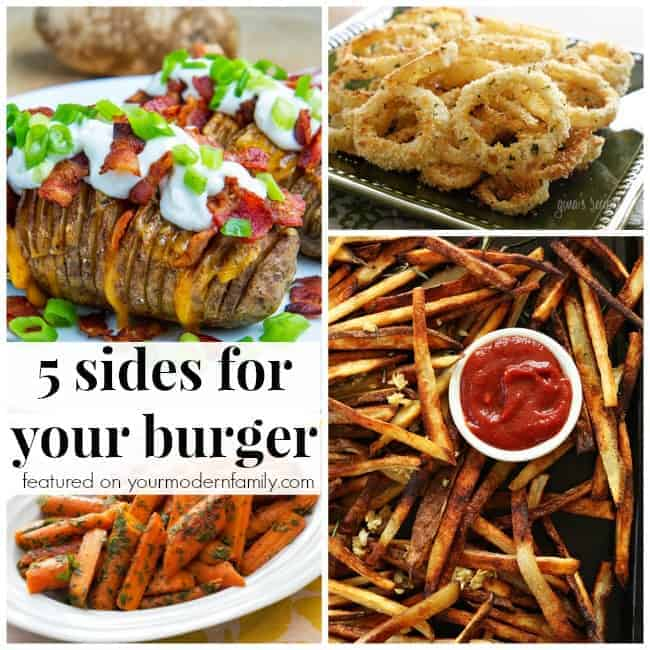 A bunch of different types of food in a collage with text.