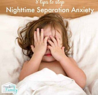 stop separation anxiety in kids at bedtime - worked for us!
