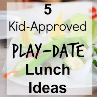 5 lunch playdate ideas