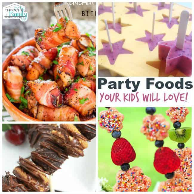 party foods your kids will love