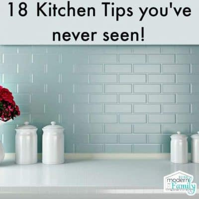 18 kitchen tips you NEVER knew - kitchen hacks