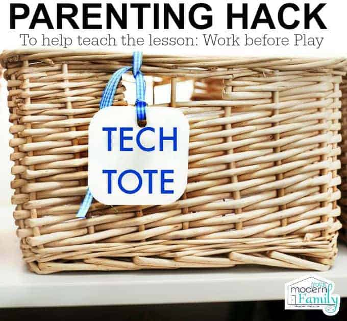 Tech Tote - the best parenting hack for kids!