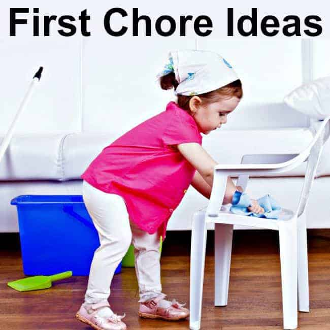 First Chores for kids - where to begin