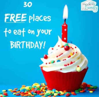 places to eat for free on your birthday