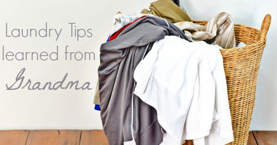 Laundry Tips Learned From Grandma Your Modern Family