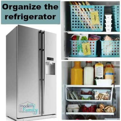 organize refrigerator