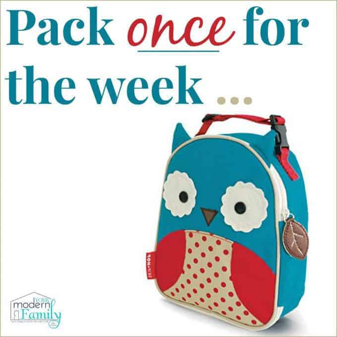 pack once for the week