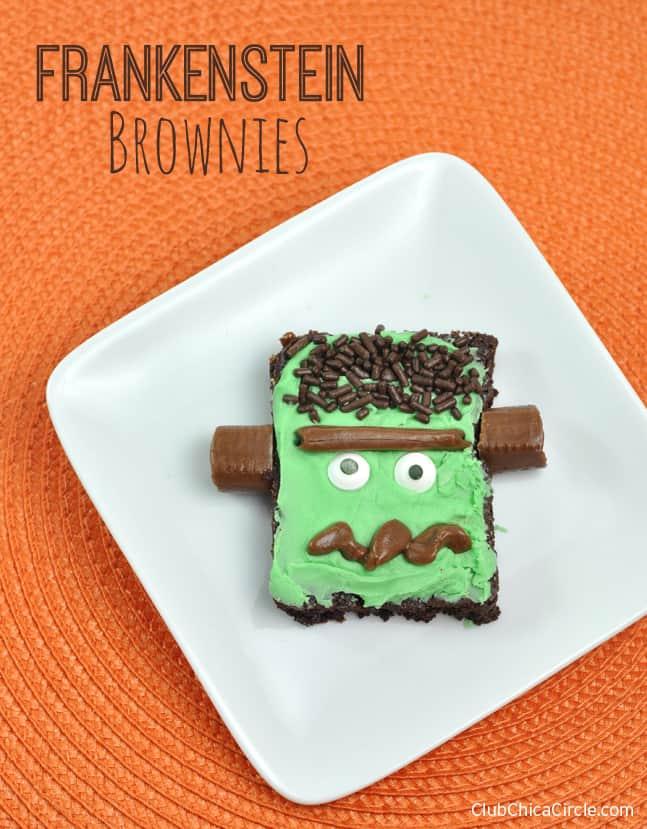 Frankenstein-Brownies-Easy-Halloween-Treat