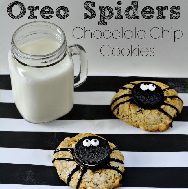 Oreo spider recipe