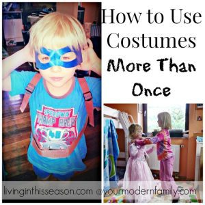 Use the Halloween Costumes more than one day with these practical tips