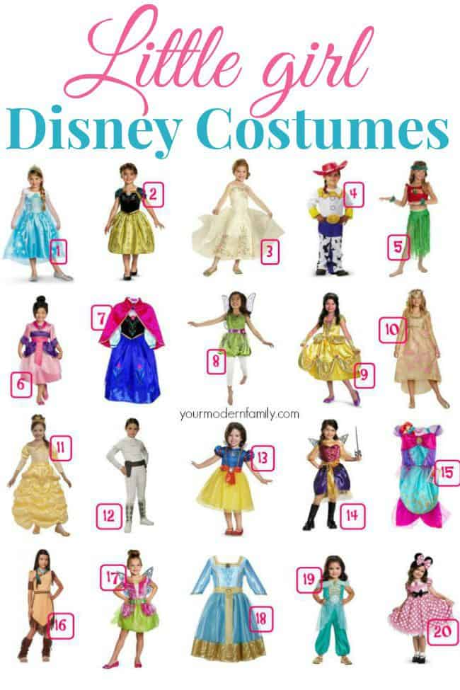 girl disney costumes