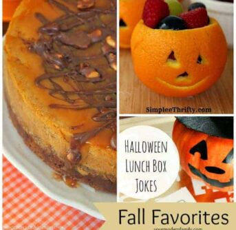 A collage of fall themed treats.