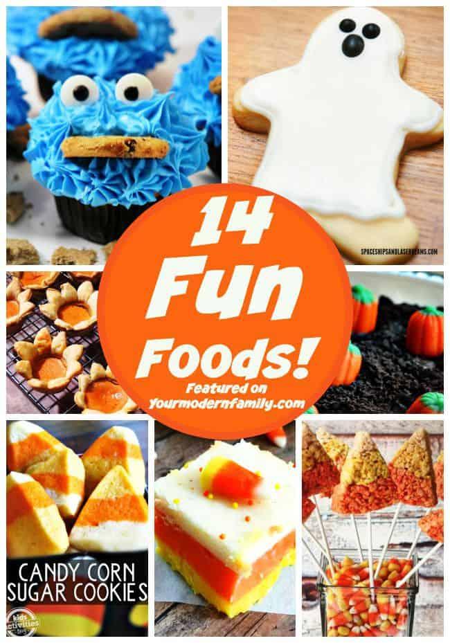 14 fun foods