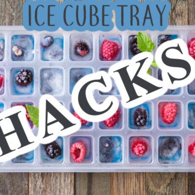 Ice Cube Tray Hacks