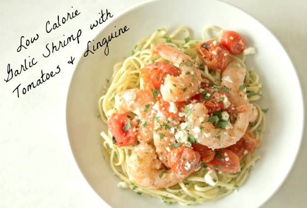 low-calorie-Garlic-Shrimp-with-tomatoes-Linguine-