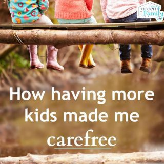 Why more kids makes me more carefree