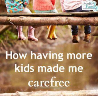 more kids makes me carefree