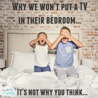 Should I put a TV in my kid's bedroom?  Why I won't…