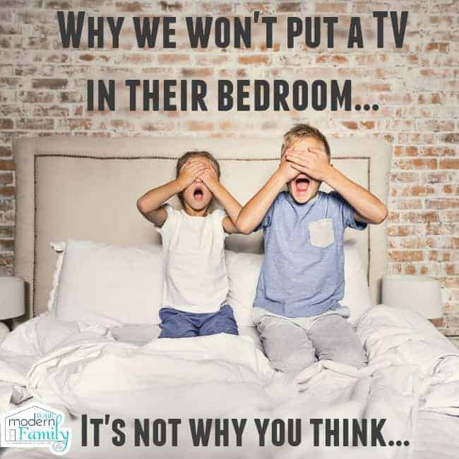 Should I Put A Tv In My Kid S Bedroom Why We Decided