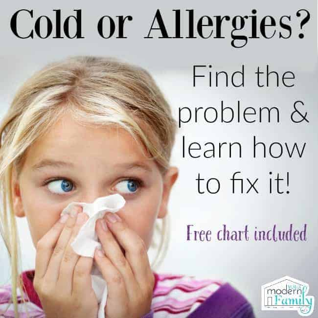 cold or allergies