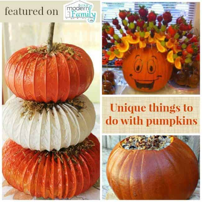 unique things to do with pumpkins