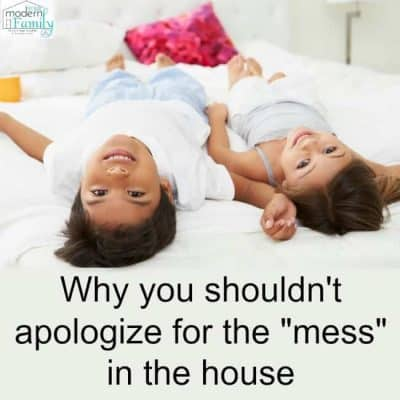 apologize for the mess