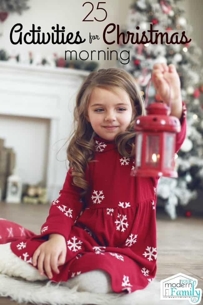 christmas morning activities