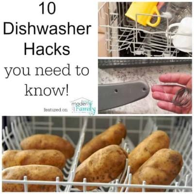 dishwasher hacks
