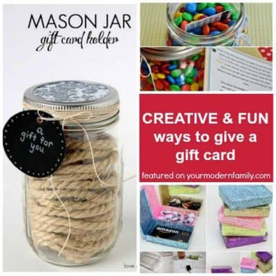 5 fun ways to give a gift card