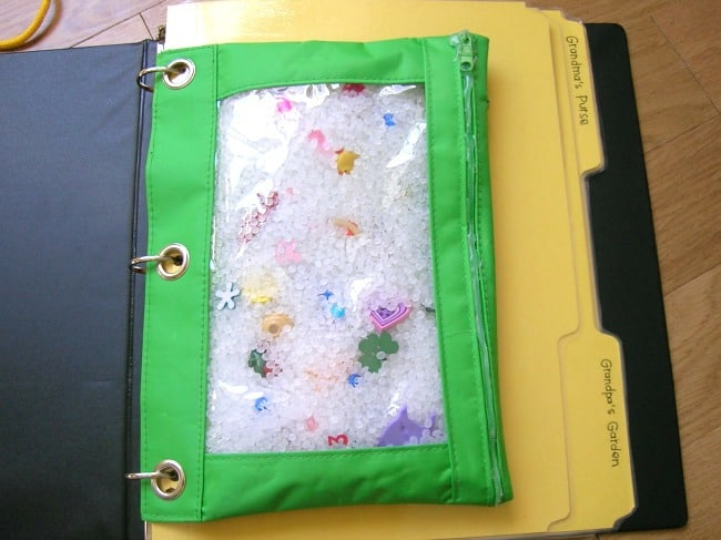 Fun binders for traveling with family!