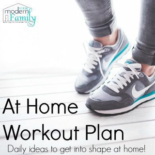 At Home Workout Plan