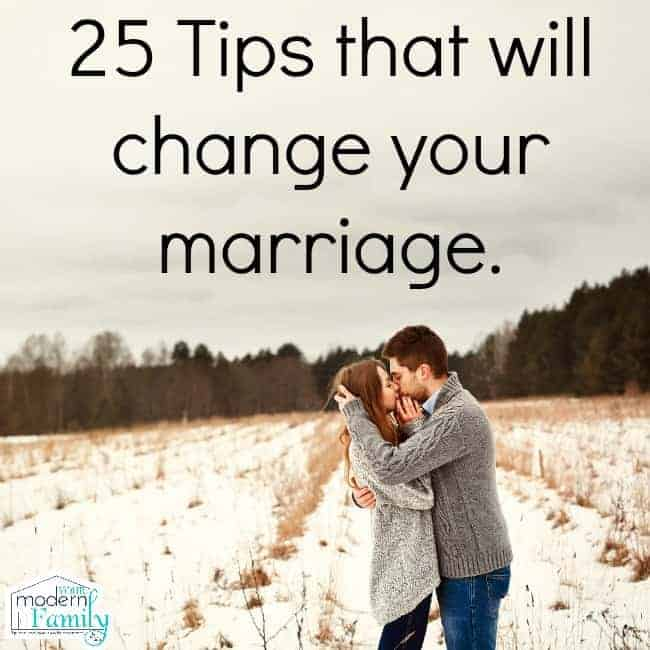 25 tips that will change your marriage