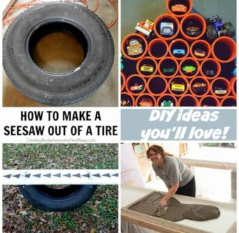 A collage of DIY ideas.