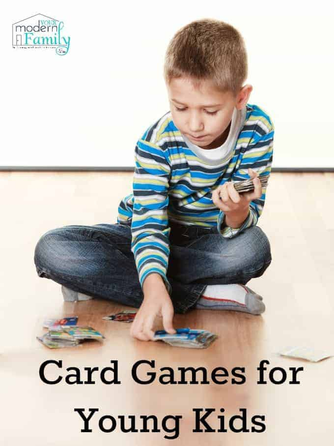 card games young kids