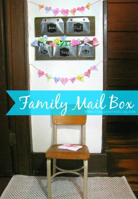 family mail box DIY