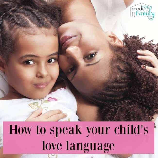 your child's love language