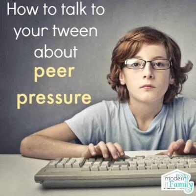 peer pressure tweens