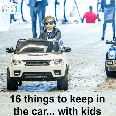 What to keep in the car