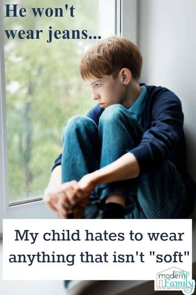 won't wear jeans