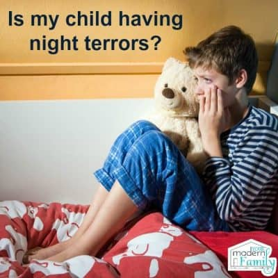 child having night terrors