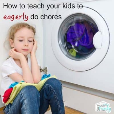 Kids will WANT to do their chores first