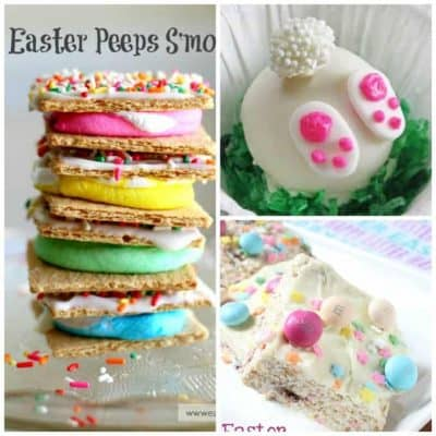 colorful easter food