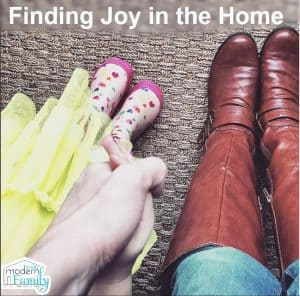 finding joy in the home