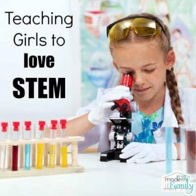 teaching girls to love stem